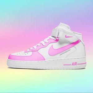Nike Custom Air Force 1 Mid NWT
